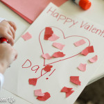 How to Make a Preschool Valentine's Day Placemat