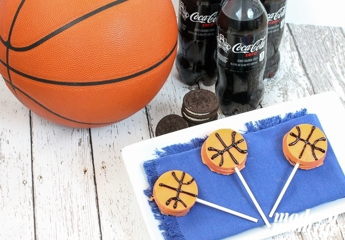 oreo basketball popsicles