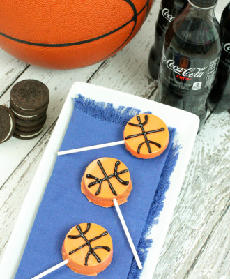 OREO Basketball Lollipops Are What Sweet Dreams are Made Of