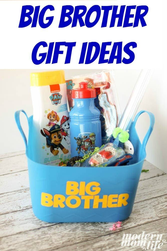 Big Brother Gift Ideas You Can Easily Make - Modern Mom Life