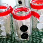 Easy to Make Mason Jar Christmas Teacher Gifts