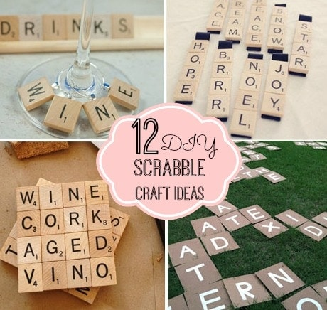 12 Scrabble Craft Ideas