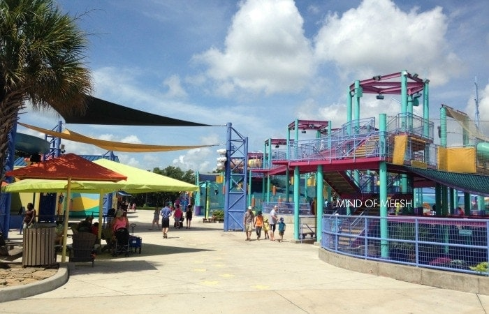 hings for Toddlers to do at Seaworld Sesame Street Bay of Play