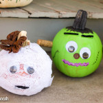 5 Simple No-Carve Pumpkin Decorating Ideas