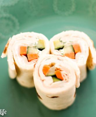 Chicken Sushi Wraps