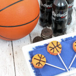 Game Day Dessert: OREO Basketball Lollipops