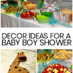 DIY Boy Baby Shower Decor Ideas