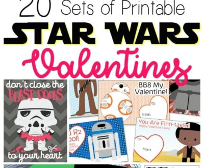20 Free Printable Star Wars Valentine's Day Cards