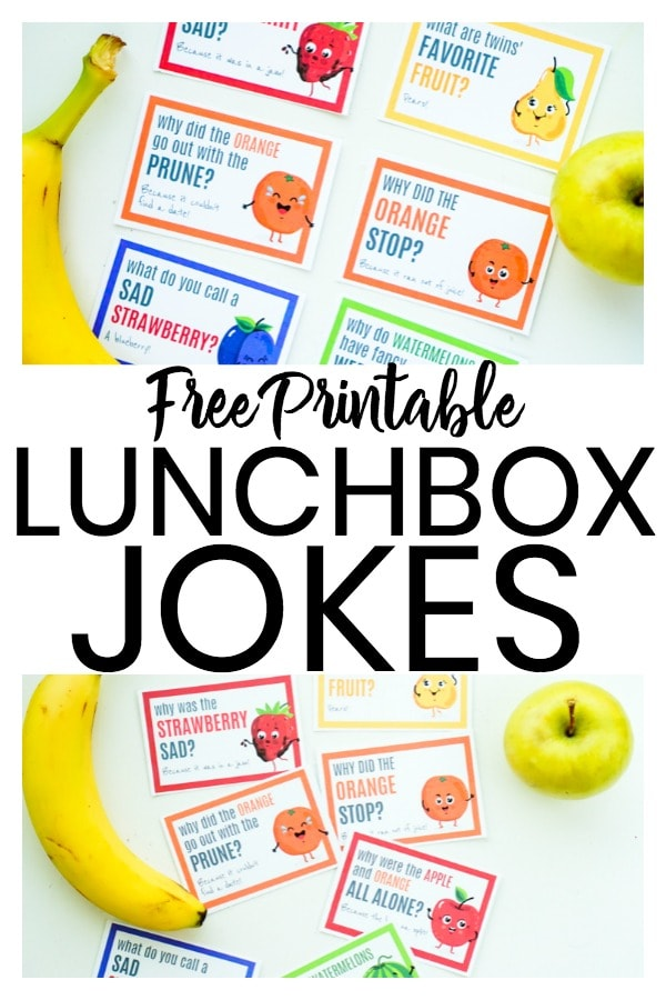 photo relating to Printable Lunchbox Jokes known as No cost Printable Lunch Box Jokes - Impressive Mother Everyday living