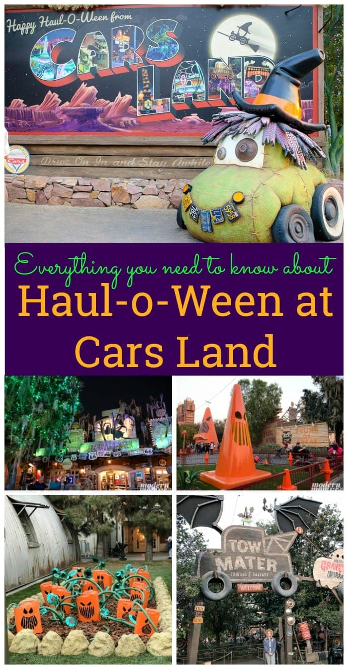 Cars Land Haul o Ween