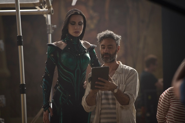 Thor Ragnarok Director and Cate Blanchett