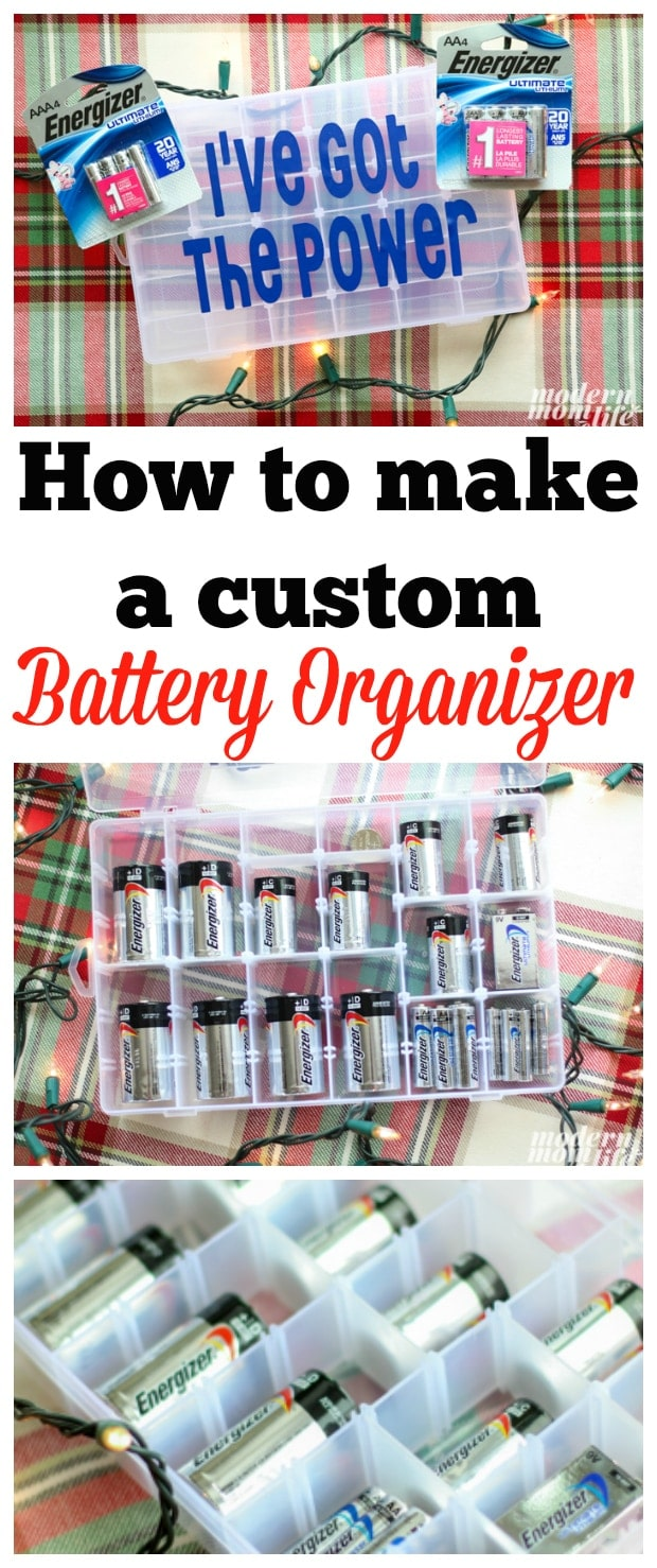 Make this simple diy battery organizer just in time for holiday diy battery organizer pin solutioingenieria Images