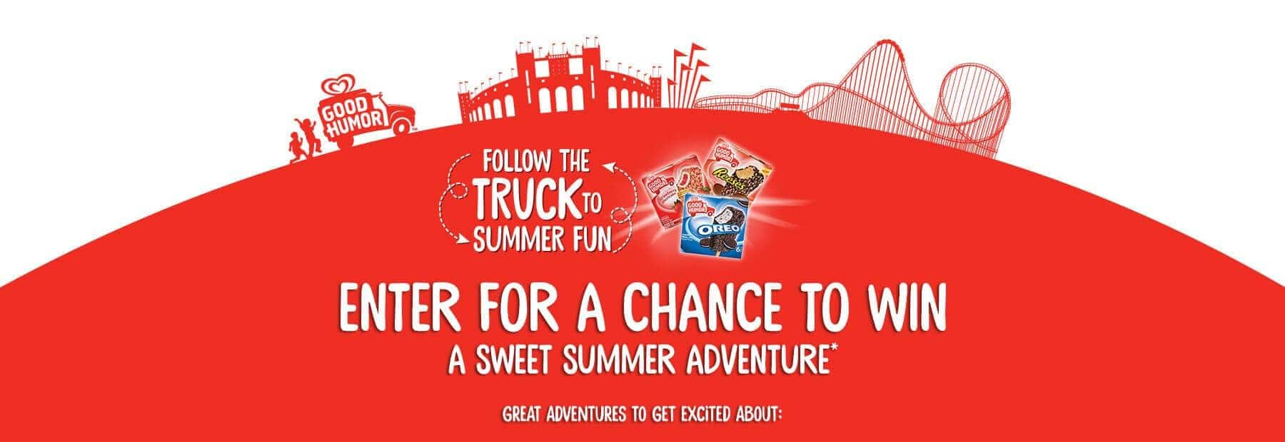 Sweet Summer Adventures Sweepstakes
