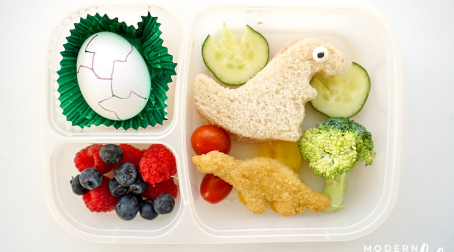 dinosaur lunch ideas for kids