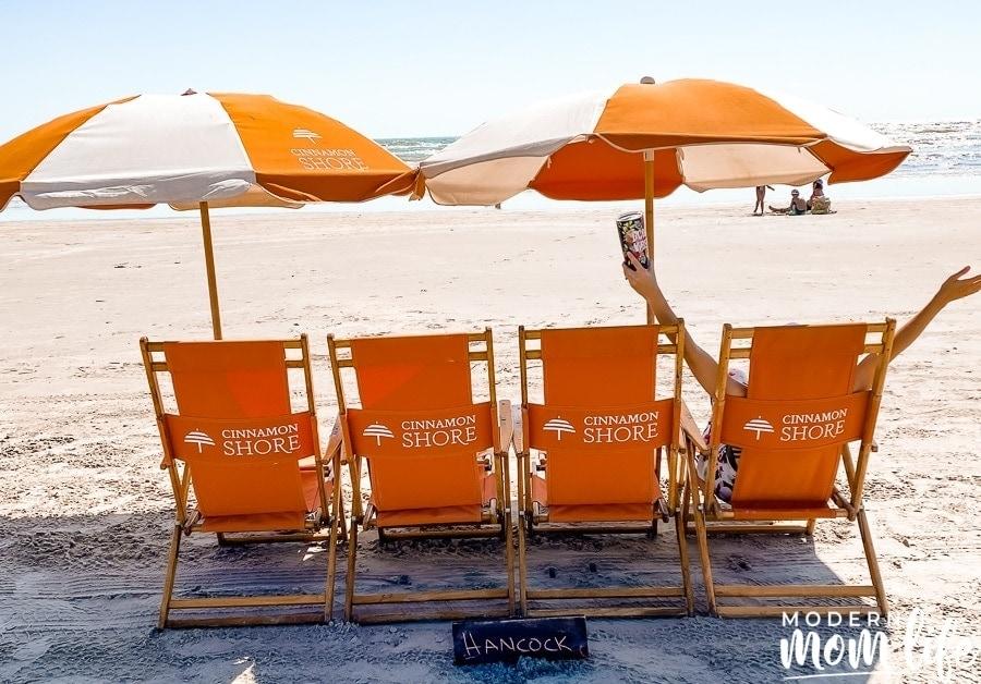 Cinnamon Shore Beach CHairs