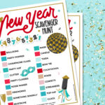 New Year's Eve Scavenger Hunt Game