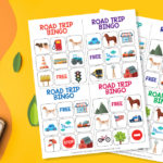 Road Trip Bingo for Kids Printable Game
