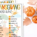 Fun Thanksgiving Scavenger Hunt for the Entire Family