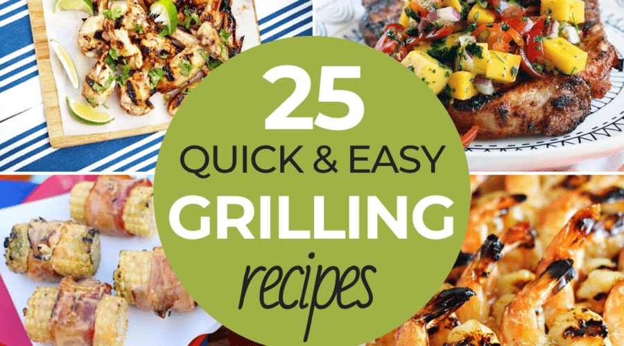 Easy grilling recipes
