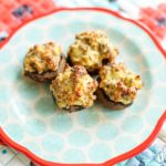 Classic Sausage Stuffed Mushrooms